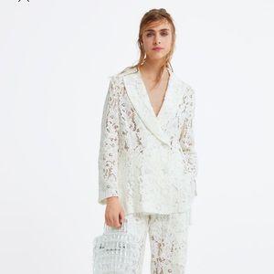 🖤SALE🖤  Zara lace blazer